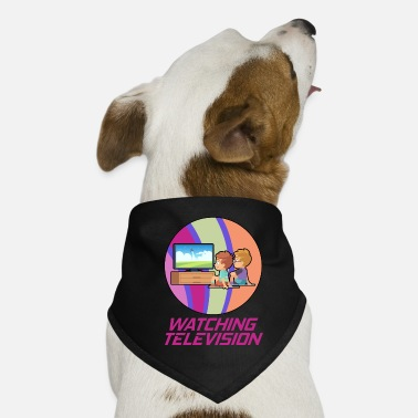 Television Television and television hobby in a circle - Dog Bandana