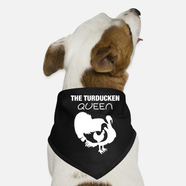 Nom Turducken Queen Thanksgiving Hostess Gift graphic - Bandana pour chien