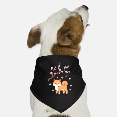 Asian Sakura dog japan anime gift - Dog Bandana
