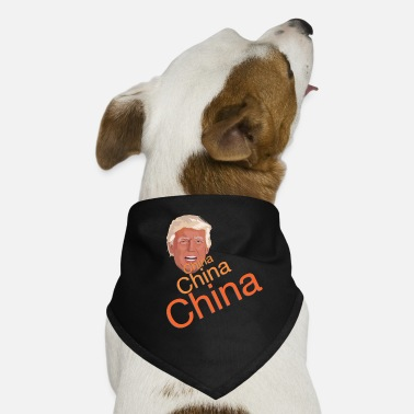 China Donald Trump - China China China - Hunde-Bandana