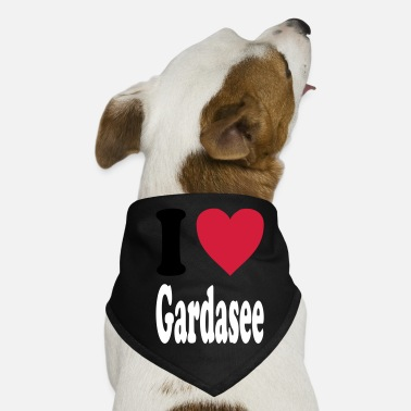 Lake Garda I love Lake Garda - Dog Bandana