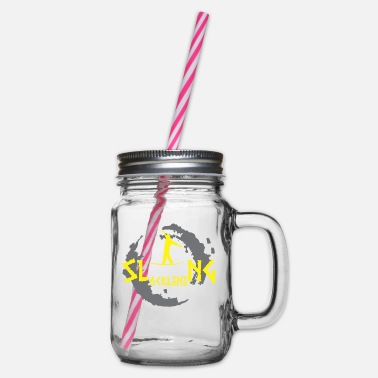 Slackline Slacklining - Slacklining - Glass jar with handle and screw cap