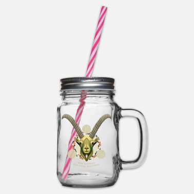 Ibex - Glass jar with handle and screw cap