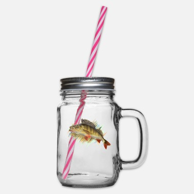 Perch Perch - Glass jar with handle and screw cap