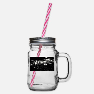 Concert concert - Glass jar with handle and screw cap