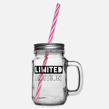 Limited Edition limited edition - Glass jar with handle and screw cap