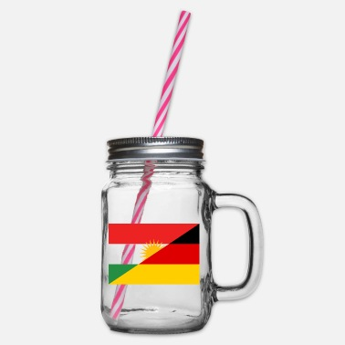 Germany Kurdistan / Germany - Glass jar with handle and screw cap