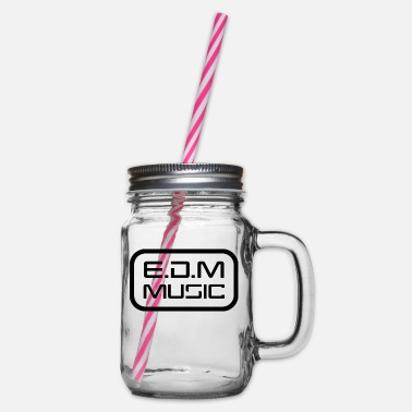 Edm EDM - Glass jar with handle and screw cap