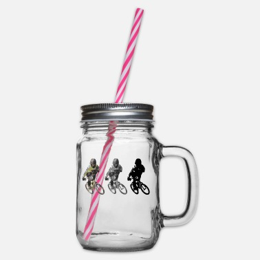 Bmx BMX - Glass jar with handle and screw cap