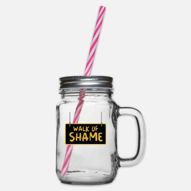 Jack Underwear Halloween Sexy Walk Of Shame Party Joke Gifts - Glass jar with handle and screw cap