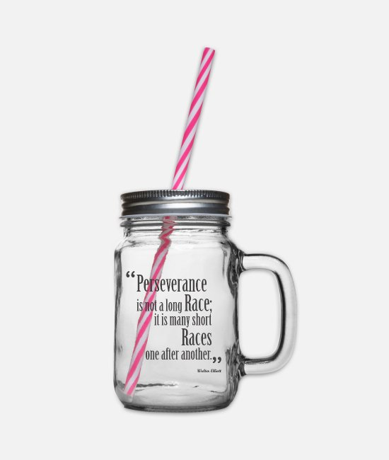 Relation Mugs et tasses - Citation inspirante | Q-000150 | DG - Bocal à boisson transparent