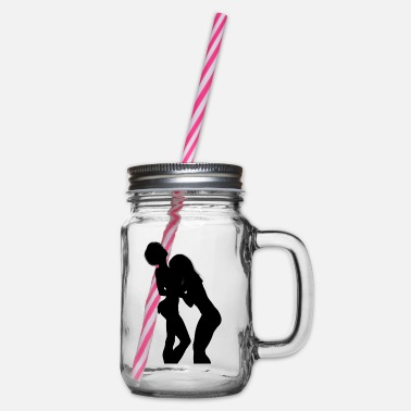 Sexually Sexuality - Glass jar with handle and screw cap