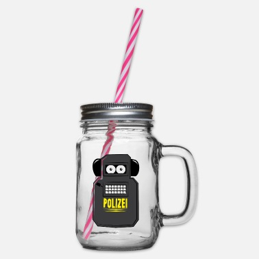 Rainbow Six Blitz - Glass jar with handle and screw cap