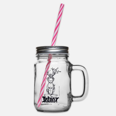 Asterix And Obelix Asterix & Obelix - Asterix model - Glass jar with handle and screw cap