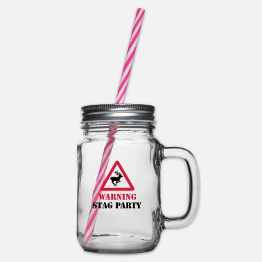 Stag Party Stag Party - Glass jar with handle and screw cap