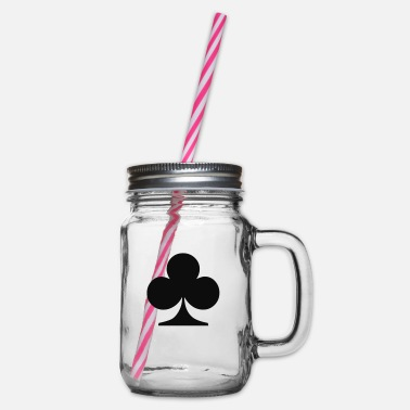 Club Clubs - Glass jar with handle and screw cap