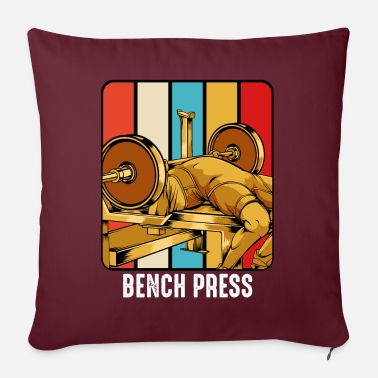 Body Builder body builder - Sofa pillow with filling 45cm x 45cm