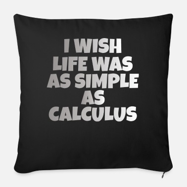 Calculus CALCULUS: Simple As Calculus - Sofa pillow with filling 45cm x 45cm