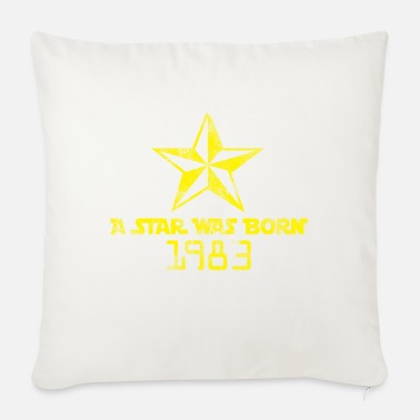 Born In Born 1983 Born Star Was Born Born in 1983 - Sofa pillow with filling 45cm x 45cm