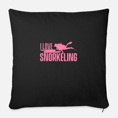 Snorkel Snorkeler snorkeler snorkeler - Sofa pillow with filling 45cm x 45cm