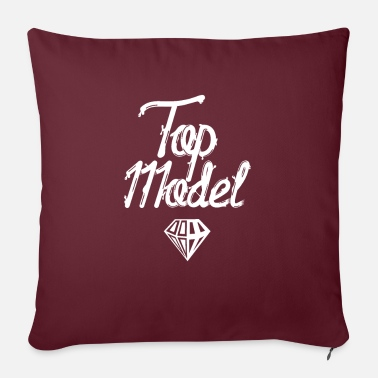 Model Model Model Model Model - Sofa pillow with filling 45cm x 45cm