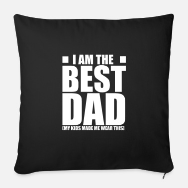 Father's Day Father's Day Father's Day Father's Day Father's Day - Sofa pillow with filling 45cm x 45cm