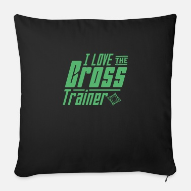 Training cross training - Cuscino da divano 44 x 44 cm con riempimento