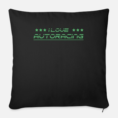 Race Car Car Racing Car Racing Car Racing Car Racing - Sofa pillow with filling 45cm x 45cm