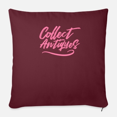 Antiques Hobby Collect antique antiques collection hobby - Sofa pillow with filling 45cm x 45cm