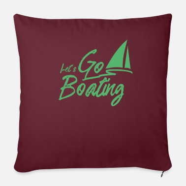 Boat Boat trip boat yacht boating boat boats - Sofa pillow with filling 45cm x 45cm