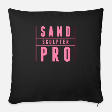 Sand Sand castle sand sand mountain sand castles sand mold - Sofa pillow with filling 45cm x 45cm