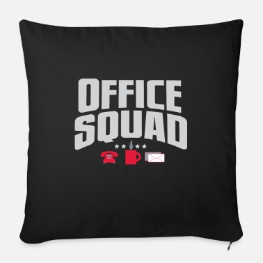 Office Squad - Sofa pillow with filling 45cm x 45cm