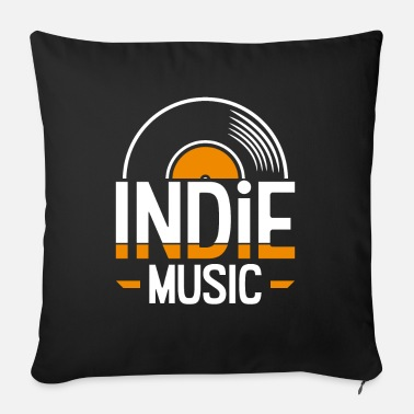 Indie Indie music - Sofa pillow with filling 45cm x 45cm