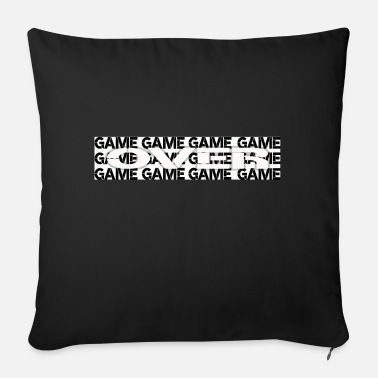 Game Over Game over, game is over, gamer, gaming, game - Sofa pillow with filling 45cm x 45cm