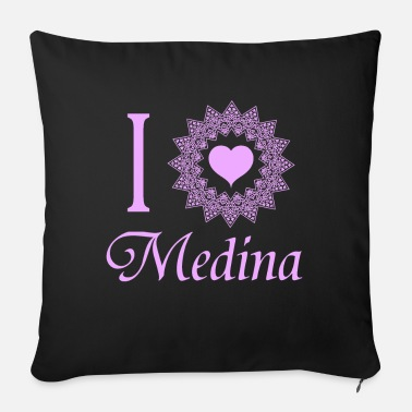 Medina MEDINA, Umrah, Hajj, Kaba, Mecca, pilgrimage - Sofa pillow with filling 45cm x 45cm