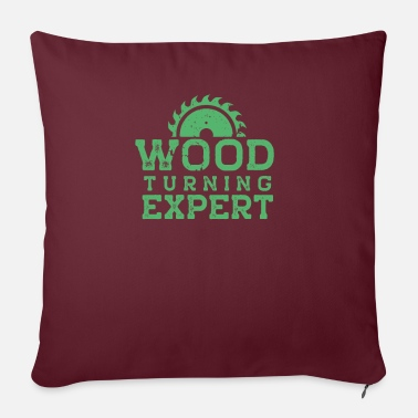 Turn Turning Wood Lathes Turning Wood Turning - Sofa pillow with filling 45cm x 45cm