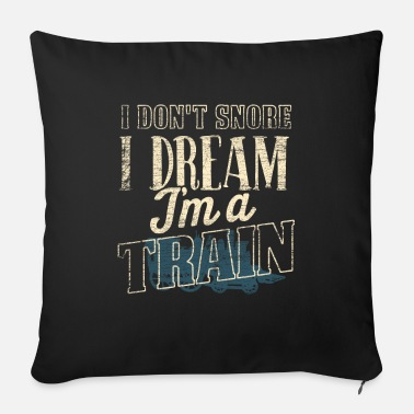 Training Train trains - Sofa pillow with filling 45cm x 45cm