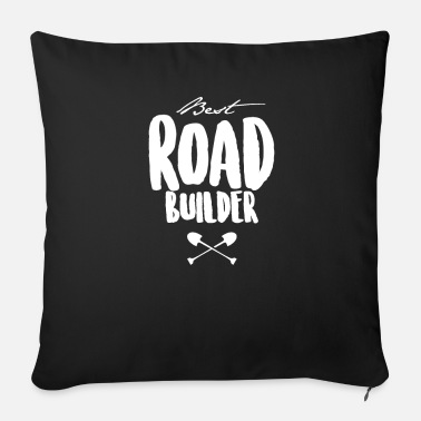 Civilization Road construction Road construction Road construction team - Sofa pillow with filling 45cm x 45cm