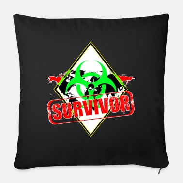 Survivor Survivor - Sofa pillow with filling 45cm x 45cm