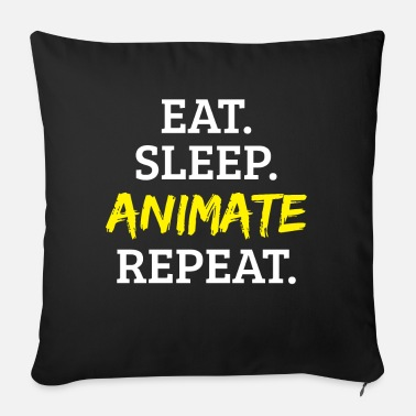 Animal Animation animate - Sofa pillow with filling 45cm x 45cm