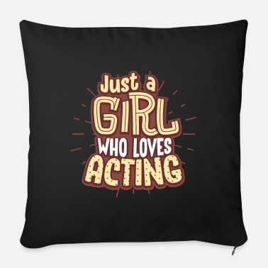 Actress actress - Sofa pillow with filling 45cm x 45cm
