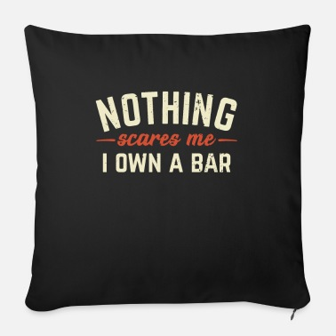 Bar-pub Bar owner pub bar innkeeper - Sofa pillow with filling 45cm x 45cm
