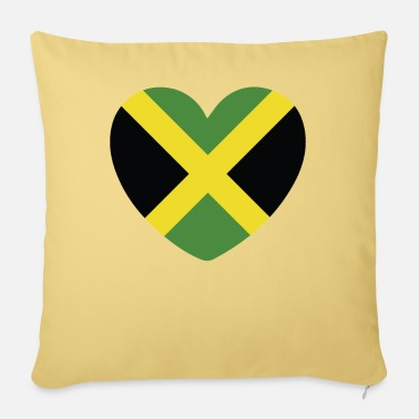 Jamaican Creole COOL JAMAICA FLAG DESIGN - Sofa pillow with filling 45cm x 45cm