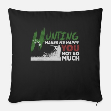 Hunting Hunting hunting - Sofa pillow with filling 45cm x 45cm