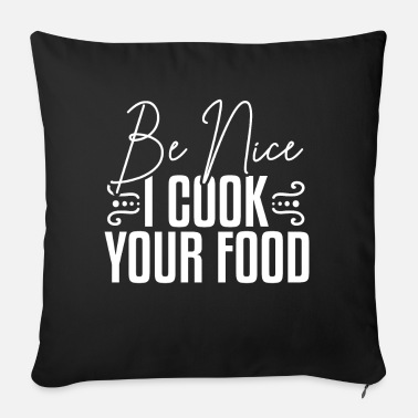 Cook Cook cook - Sofa pillow with filling 45cm x 45cm