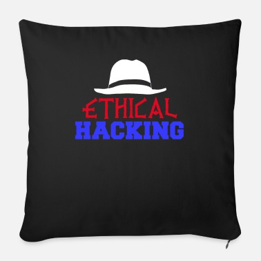 Hacking Engineer Ethical hacking - Sofa pillow with filling 45cm x 45cm
