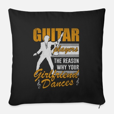 Bassist Guitar music bassist gift - Sofa pillow with filling 45cm x 45cm