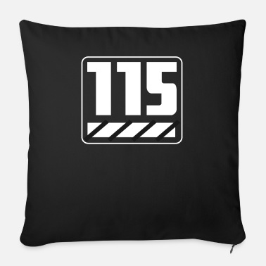 115 115 years - Sofa pillow with filling 45cm x 45cm