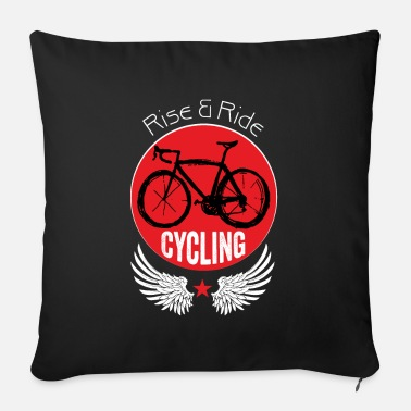 Rise & Ride - Sofa pillow with filling 45cm x 45cm