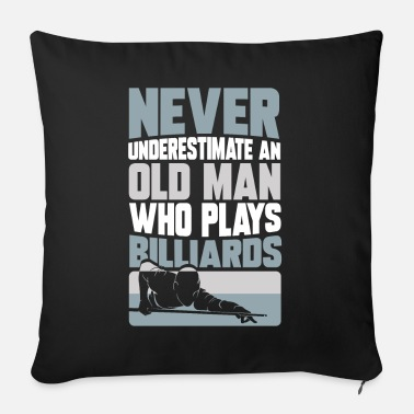 Snooker billiards pool snooker billiard gift idea que - Sofa pillow with filling 45cm x 45cm